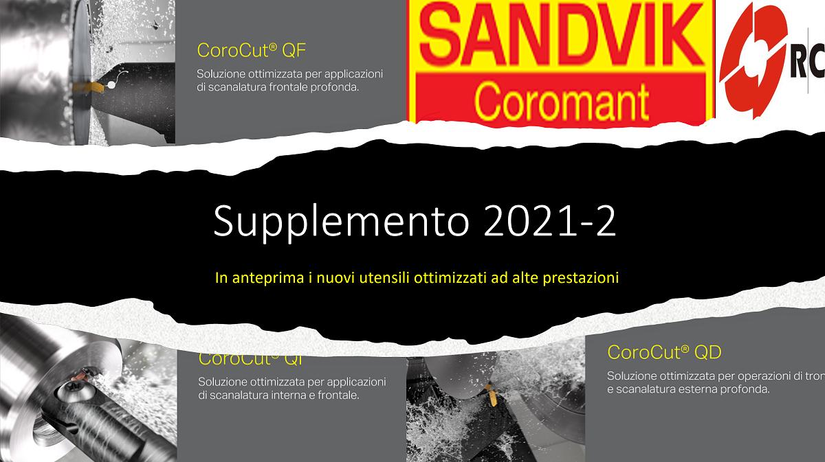 Supplemento 2021-2 Sandvik Coromant