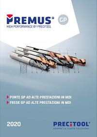 Catalogo Precitool Premus GP 2020 punte e frese