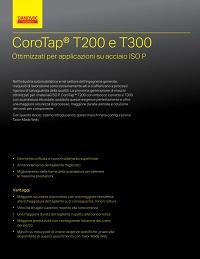 Catalogo Sandvik Coromant Corotap T200 e 300