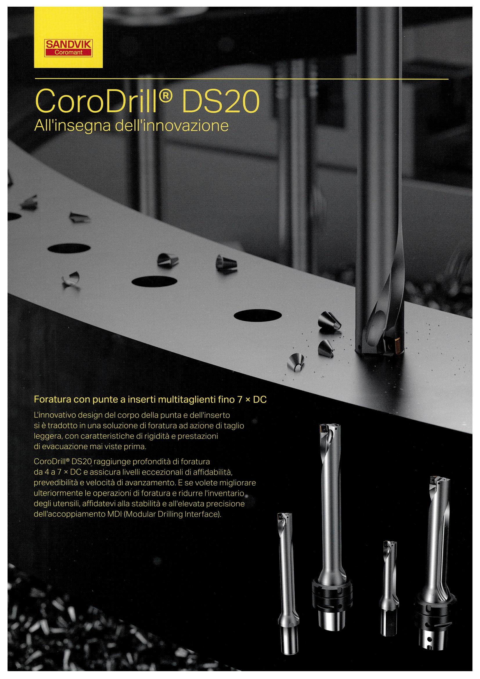 Brochure Sandvik Coromant punta-CoroDrill-DS20