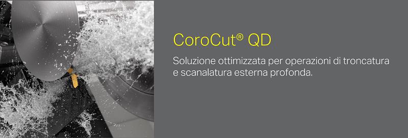 Utensile CoroCut QD Sandvik Coromant